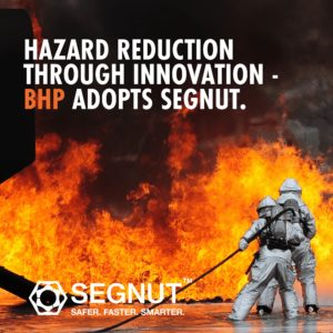 BHP Adopts Segnut as Solution to Hot Works Fires